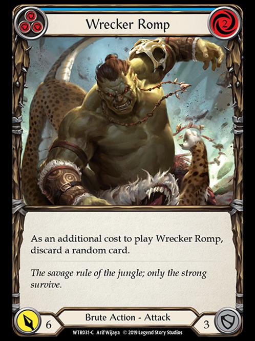 Wrecker Romp (Blue)