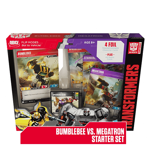 Bumblebe vs Megatron Starter Deck