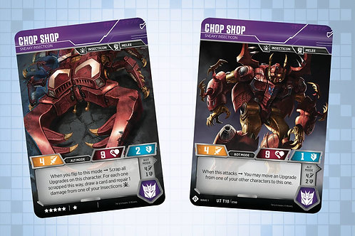Chop Shop - Sneaky Insecticon