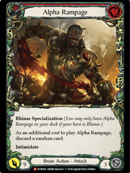 Alpha Rampage - WTR Unlimited