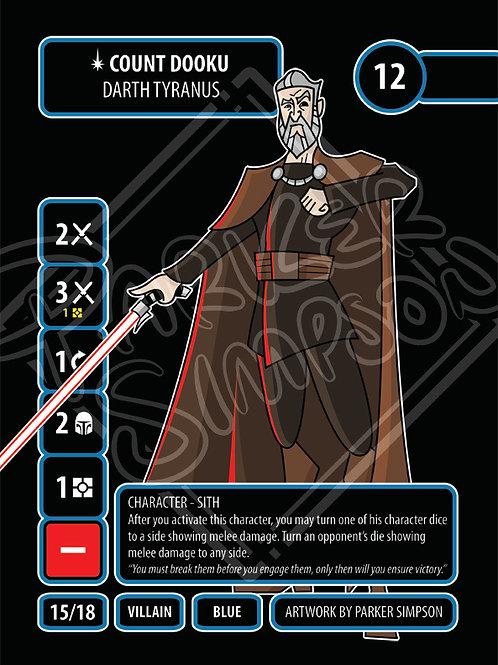 Count Dooku - Darth Tyranus