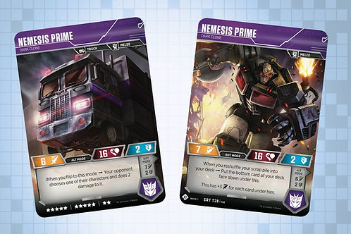 Nemesis Prime - Dark Clone