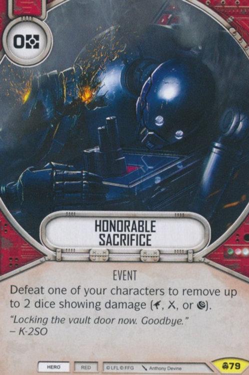 Honorable Sacrifice