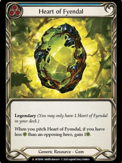 Heart of Fyendal (Rainbow Foil) WTR Unlimited