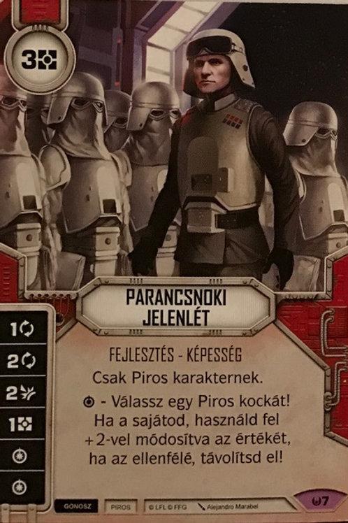 Commanding Presence (Hungarian)