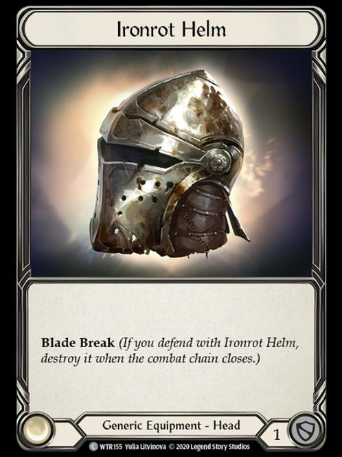 Ironrot Helm - WTR Unlimited