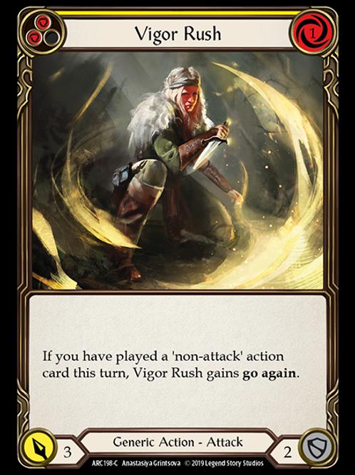 Vigor Rush (Yellow)
