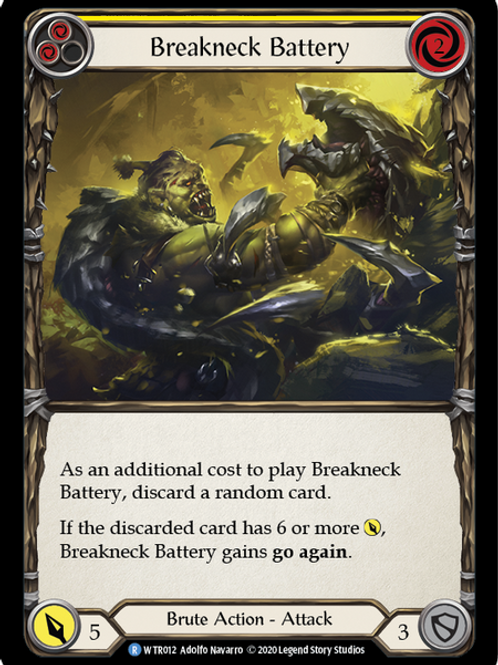Breakneck Battery (Yellow) WTR Unlimited