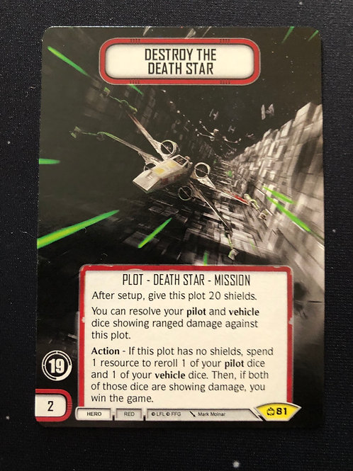 Destroy the Death Star & Construct the Death Star Double-Sided Promo S19