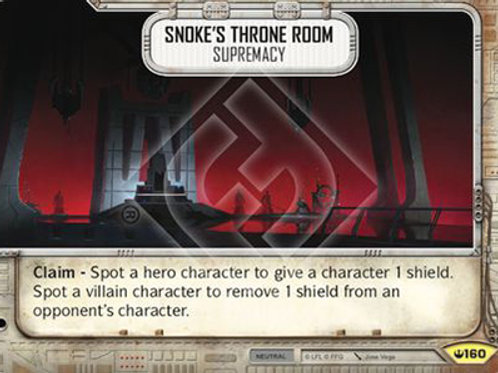 Snoke's Thrown Room