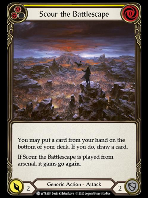 Scour the Battlescape (Yellow) WTR Unlimited