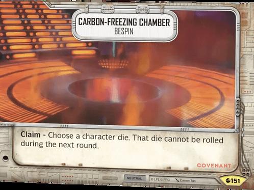 Carbon-Freezing Chanber