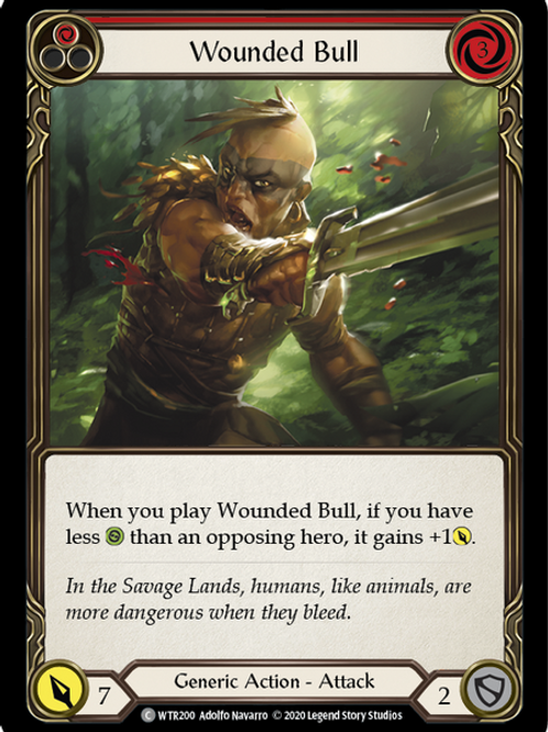 Wounded Bull (Red) WTR Unlimited