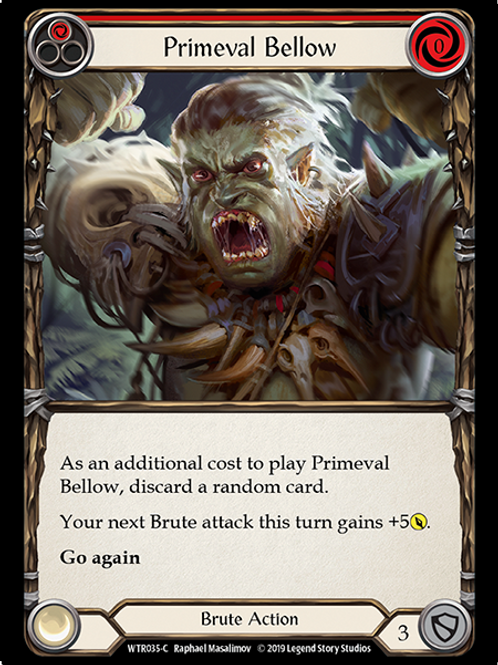 Primeval Bellow (Red)