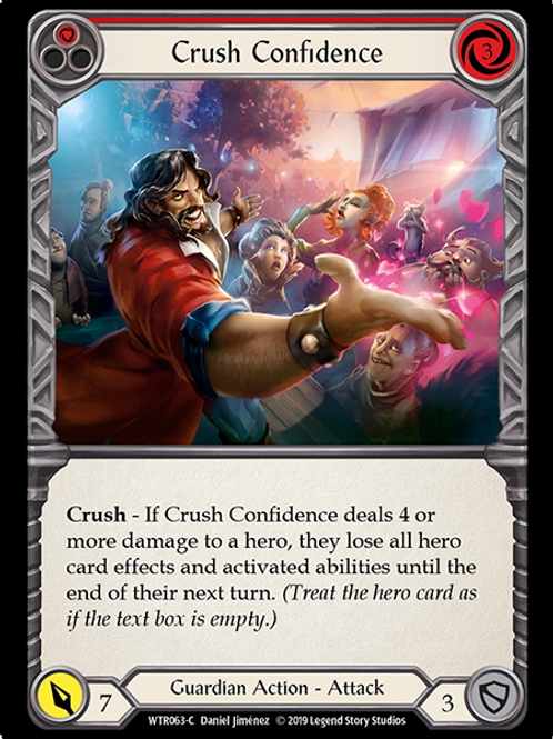 Crush Confidence (Red)
