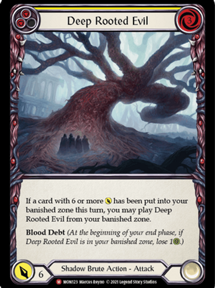 Deep Rooted Evil | Monarch 1st Ed