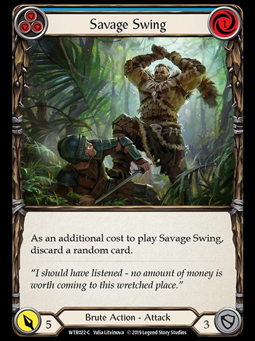 Savage Swing (Blue)