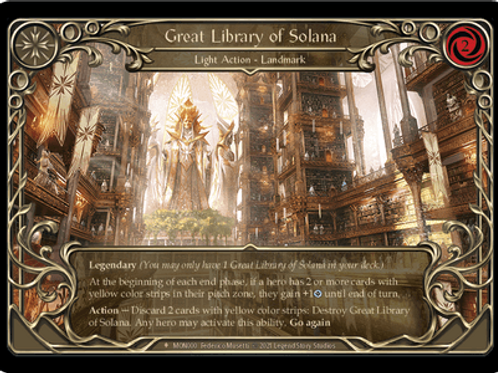 Great Library of Solana | Monarch Unlimited