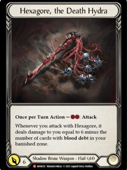 Hexagore, the Death Hydra (Cold Foil) Monarch 1st Ed
