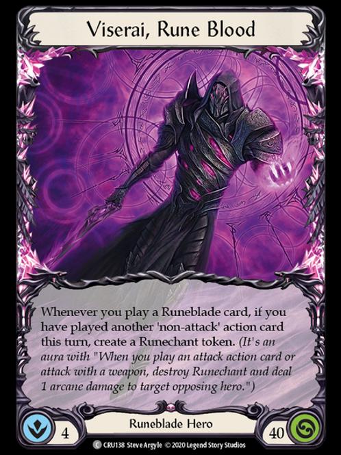 Viserai, Rune Blood