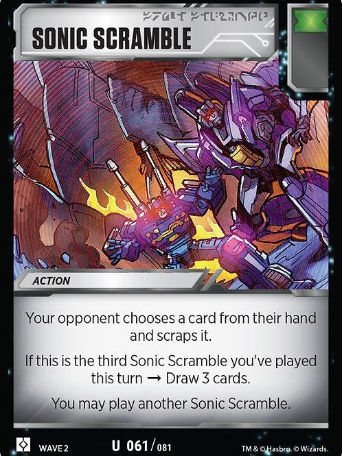 Sonic Scramble