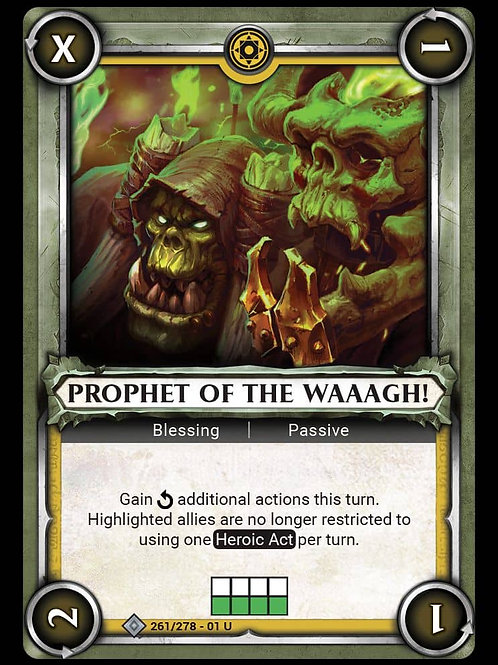 Prophet of the Waaagh!