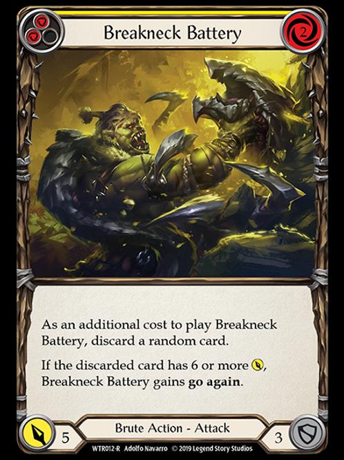 Breakneck Battery (Yellow)