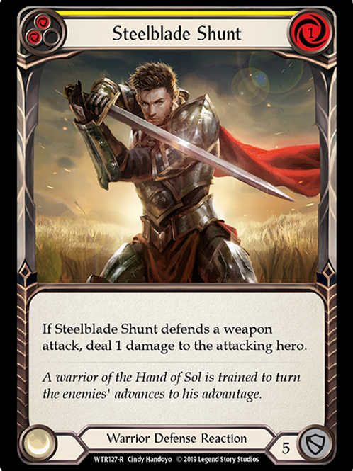 Steelblade Shunt (Yellow)