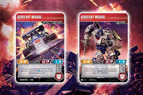 Sergeant Mirage