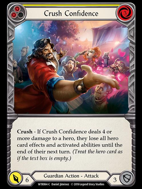 Crush Confidence (Yellow)