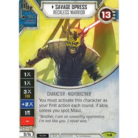 Savage Opress - Reckless Warrior