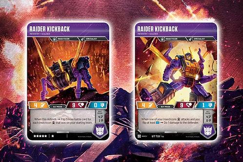 Raider Kickback