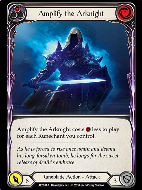 Amplify the Arknight (Red)