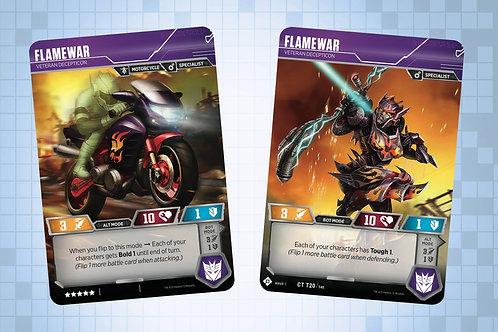 Flamewar - Veteran Decepticon