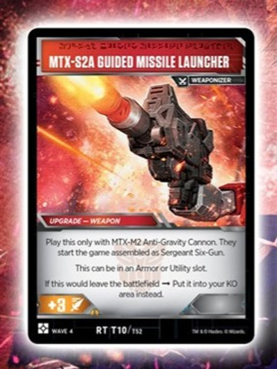 MTX-S2A Guided Missile Launcher