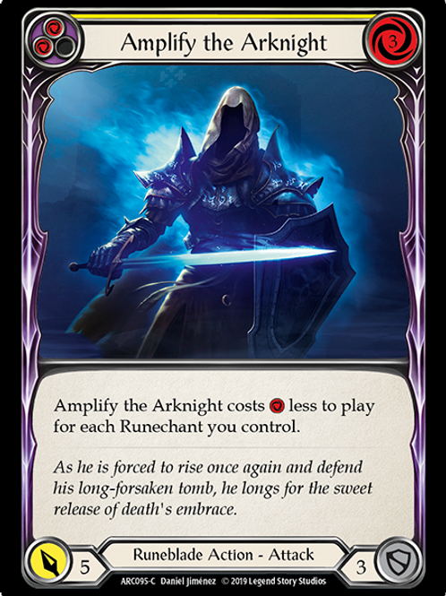 Amplify the Arknight (Yellow)