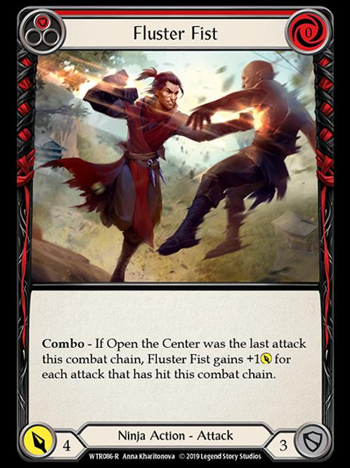 Fluster Fist (Red)