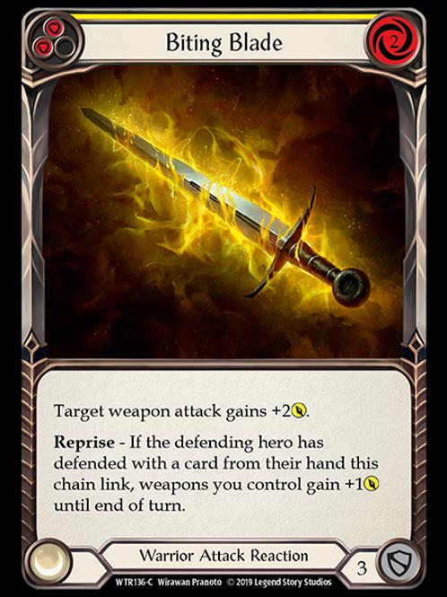 Biting Blade (Yellow)
