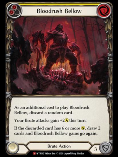 Bloodrush Bellow - WTR Unlimited
