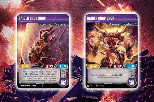 Raider Chop Shop