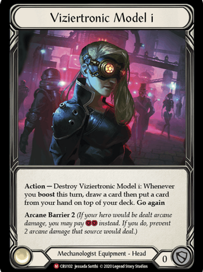 "Viziertronic Model i"""