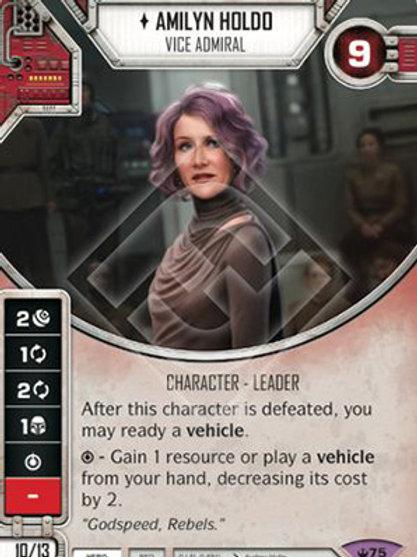 Amilyn Holdo - Vice Admiral