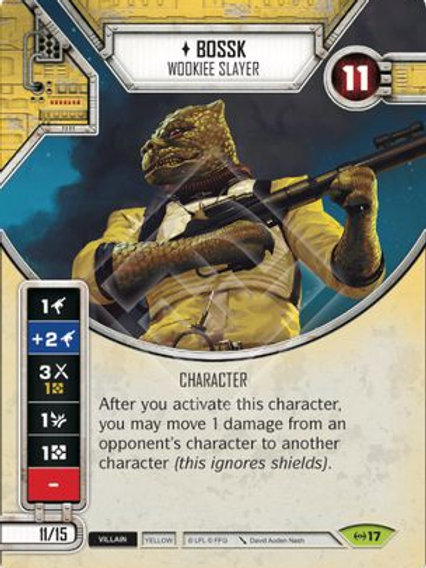 Bossk - Wookiee Slayer