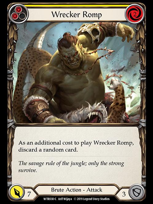 Wrecker Romp (Yellow)
