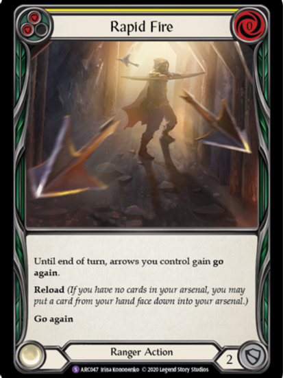 Rapid Fire - Arcane Rising Unlimited