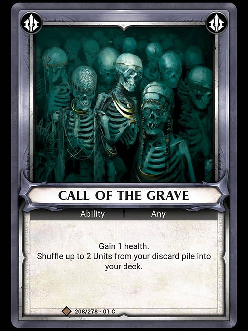 Call of the Grave