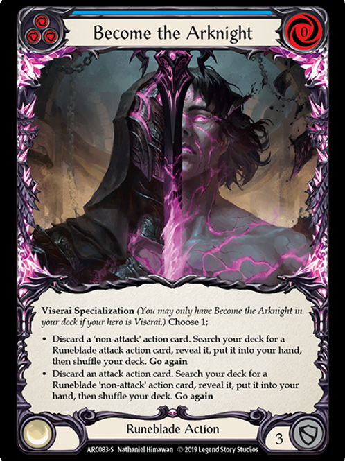 Become the Arknight (Foil) Arcane Rising Unlimited