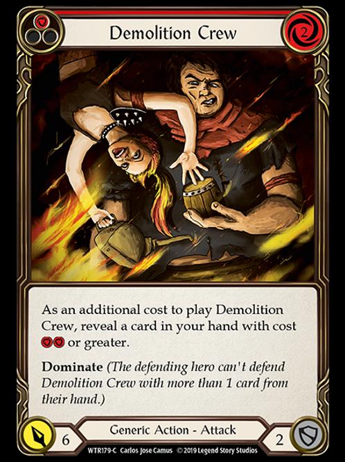 Demolition Crew (Red)