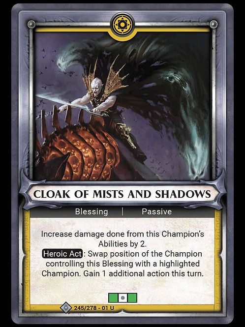 Cloak of Mists and Shadows