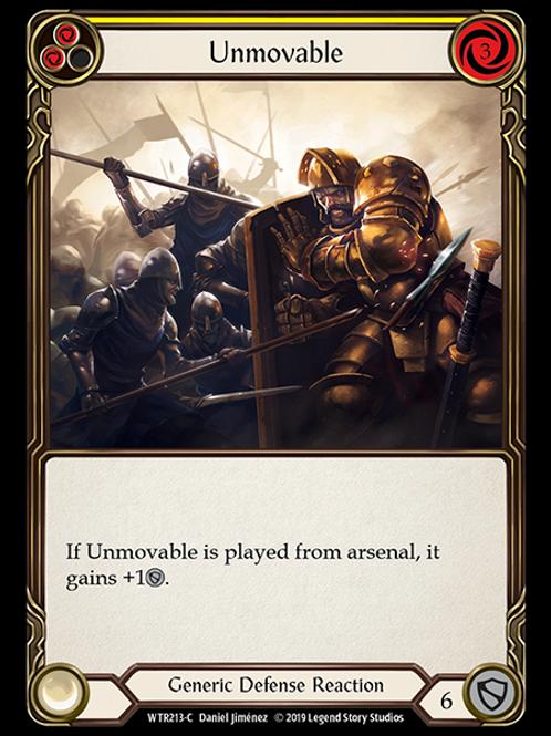 Unmovable (Yellow)